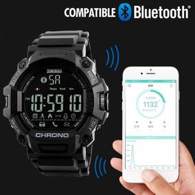 Reloj Skmei 1249 Bluetooth Resistente Al Agua Con Estuche