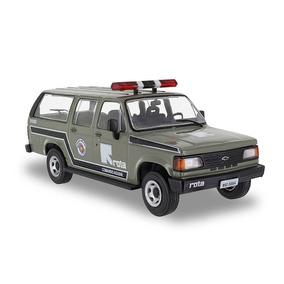 Miniatura Chevrolet Veraneio Polícia Militar Rota Sp Ed.510