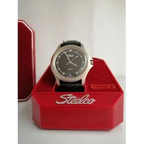 Reloj Steelco Vintage Con Estuche Original Nunca Se Uso