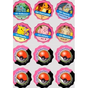 Tazos Pokemon Jogo 1999 Em Pdf