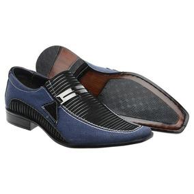 f54c552b2 Sapato Jeans Masculino - Sapatos no Mercado Livre Brasil