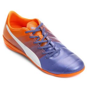 Chuteira Puma Azul E Rosa Futsal - Chuteiras no Mercado Livre Brasil ca2fef4941a44