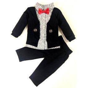 Roupa Bebê Conjunto Menino Tipo Jeans Social Festa Importado