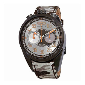 Bomberg 1968 Mens Chronograph Silver Dial Watch Ns44chpgm.00