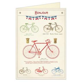 Tarjeta De Felicitacion Bicycles
