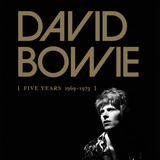 David Bowie - Box Five Years 1969-1973 Lacrado - Novo