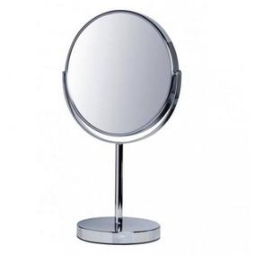 Espelho De Aumento (5x) Grande Vertix - Cromado