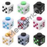 Fidget Spinner Cubo Anti Estres Cubo Rubik Quita Ansiedad *