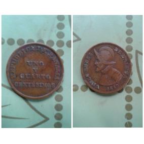 Monedas De Uno Y Cuarto Centesimo De 1940