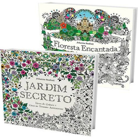 Kit Livros - Jardim Secreto + Floresta Encantada