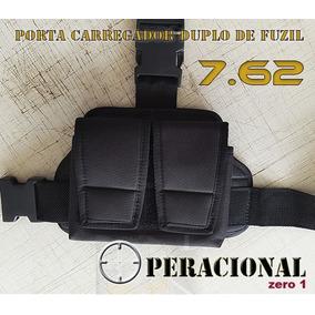 Porta Carregadores De Perna Duplo Fuzil 7,62