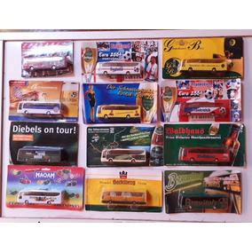 1 Onibus Miniatura Escala 1.87 Ho Para Maquetes Ou Coleção.
