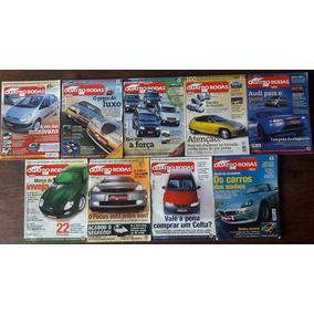 4 Rodas - Coleção Com 33 Revistas Dos Anos 2000