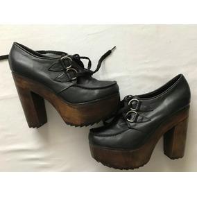 Zapatos Taco Alto Con Cordones - Zapatos en Mercado Libre Argentina 3ea25539b08