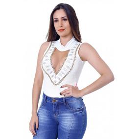 Body Feminino Zigma Anita Off-white