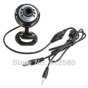 6 Led Usb2.0 Hd Webcam Web Cam Video Camera Usado