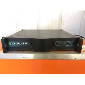 Amplificador Marca Crown Modelo: K2. En Estado De Protección