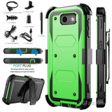 Green With Accessory - Samsung Galaxy J3 Prime /j3 2017-7120