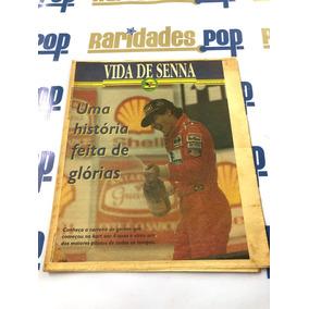História E Despedida Ayrton Senna Folha De Sp 1994 Original