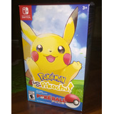 Pokemon Lets Go Pikachu + Pokeball Plus - Pack - Nuevo