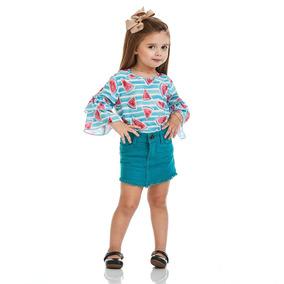 Bata Acostamento Infantil Fashion Watermelon Pool Verde