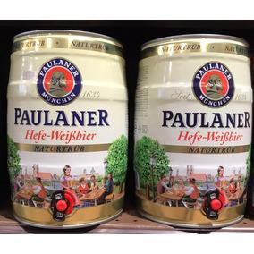 Barril Cerveja Paulaner Hefe-weisbier Naturtrube 5 Lt