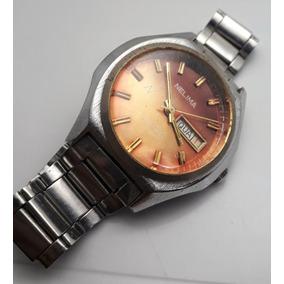 d8a7c66ac7c Relogio Antigo Nelima Automatico - Relógios no Mercado Livre Brasil