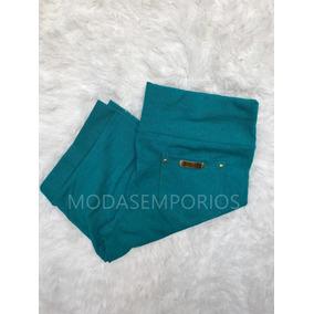 Kit Com 5 Short Feminina Em Cotom Várias Cores P M G Gg