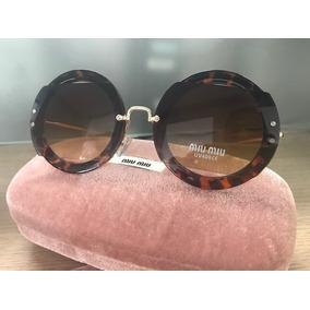 Óculos Miu Miu Tartaruga Quadrado - Óculos no Mercado Livre Brasil 6c6c03abf5