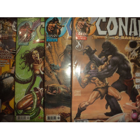 Conan O Barbaro Mythos 1 A 75 Completa Frete Gratis Excelent
