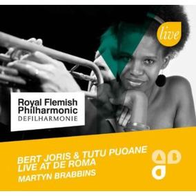 Cd Bert Joris & Tutu Puoa Live At De Roma
