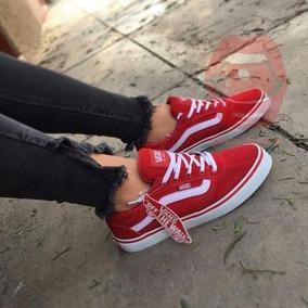 d872ecaced6cc Zapatillas Vans Rojo Mujer - Ropa y Accesorios en Mercado Libre Perú