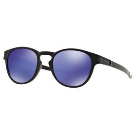 aea6d6881cd6a Óculos De Sol Oakley Latch Violet Iridium Espelhado Oo9265l