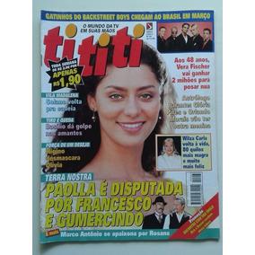 Revista Tititi Nº 63 - 1999 - Terra Nostra, Backstreet Boys