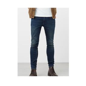 Jeans Jude Skinny Lavado Oscuro Talla 32