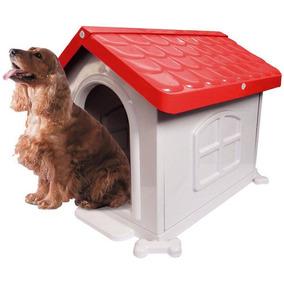 Casa Plástica Desmontável P/ Cães N 3 Rosa Minas Gerais