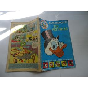 Almanaque Tio Patinhas Nº 1 Abril 1963 Todo Original