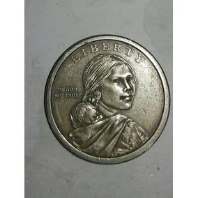 Moneda Estados Unidos $1 Dolar Sacagawea