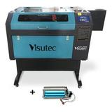 Maquina Router Laser Cnc Vs6040 Corte E Gravação 60x40cm 60w