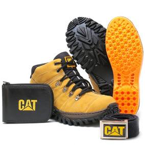 Bota Caterpillar Sapato Cat Promoção Casual Ultimas Pe