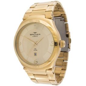 4f850d7dea1 Relógio Backer 50 M Em Aço Inoxidável Branco 1672253m - Relógios De ...