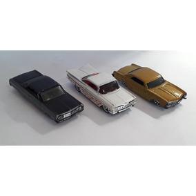 Miniatura Impala E Riviera 1:64 Hot Wheels 3 Unidades Lote