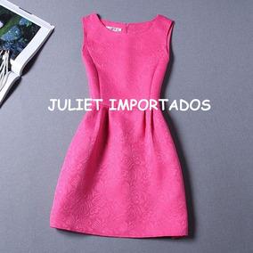 68df79b442a Cod 046 - Vestido Infantil Menina Rosa Importado 9 - 10 Anos