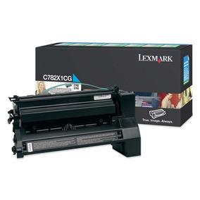 Cartucho Toner Lexmark Ciano 15k C782/x782 - C782x1cg