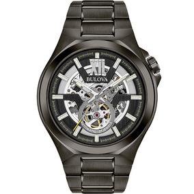 Reloj Bulova Automatic Skeleton Original Para Hombre 98a179