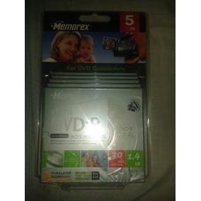 Mini Dvd-r 1.4gb Memorex Pack De 5