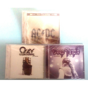 Lote De Cds - Ozzy Osb. Deep Purple - Ac/dc Hits Collection
