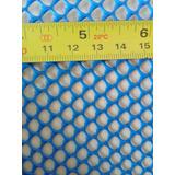 10 Mt Telas Para Alevinos Azul 4mm X 1,20 Frete Grátis