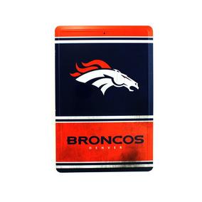6b1e32fef7 Letrero Denver Broncos Nfl Logotipo Del Equipo Metal