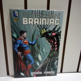 Dc Comics - Superman - Brainiac - Capa Dura